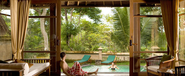 Bali Pitamaha Resort Honeymoon Package - Garden Pool Villa