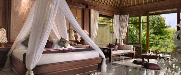 Bali Pitamaha Resort Honeymoon Package - Garden Villa Bedroom