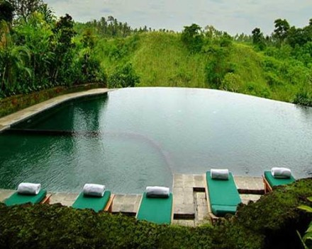 Bali Pitamaha Resort Honeymoon Package - Pool