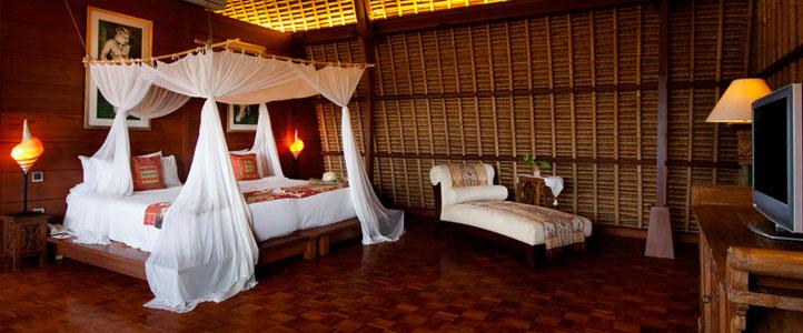 The Hill Villas Honeymoon - Bedroom Lumbung Pool Villa