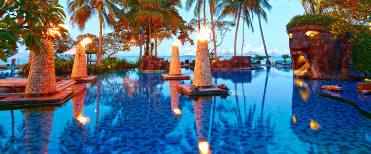 Lombok Sheraton Senggigi Honeymoon Package - Pool Club
