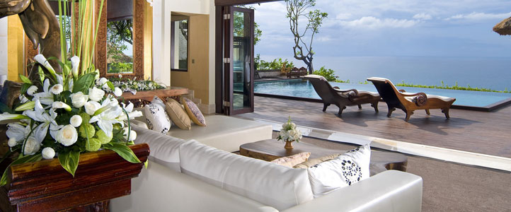 Bali Ayana Resort Honeymoon Package - Ayana Villa Living Room