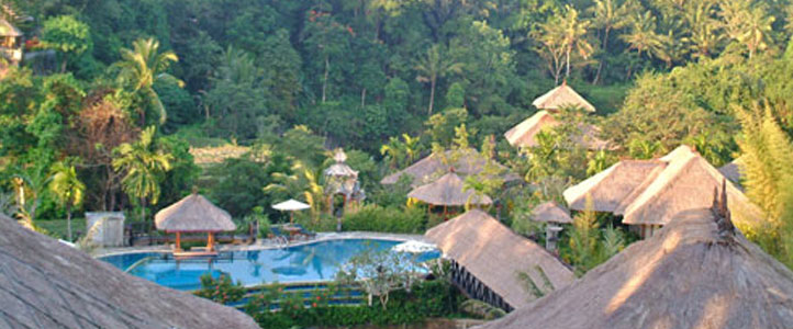 Bali Santi Mandala Villa Honeymoon Package - Villa Area