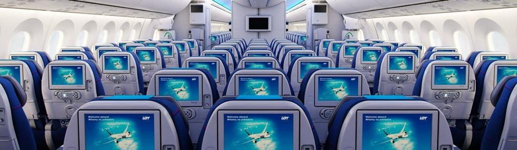 Reservasi Tiket Pesawat Online - Interior Pesawat