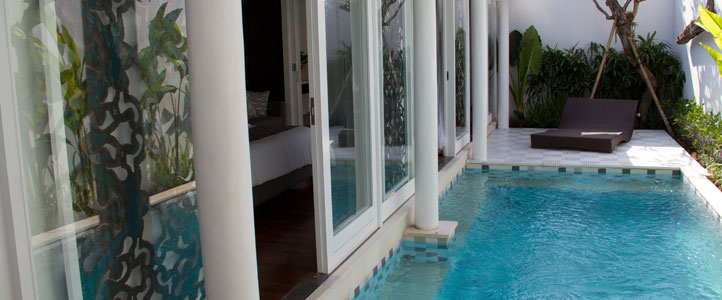 Bali Astana Batubelig Honeymoon - Private Pool