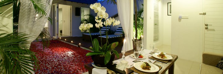 Bali Astana Kunti Honeymoon Villa - Dinning