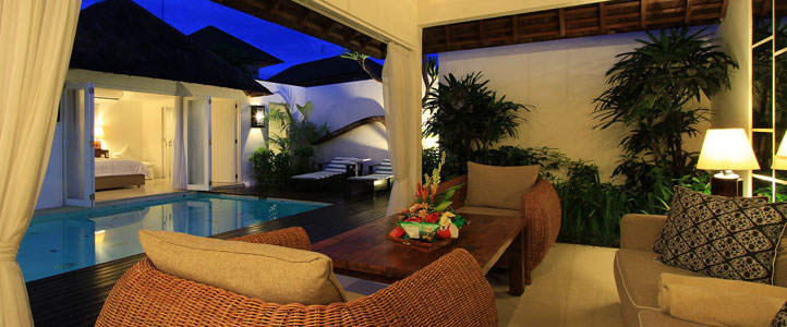 Bali Astana Kunti Honeymoon Villa - Living Room