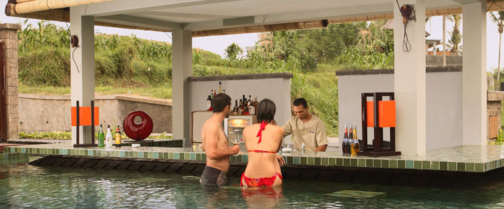 Bali Furama Xclusive Honeymoon - Lagoon Pool Bar