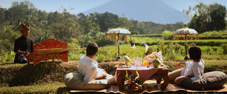 Bali Furama Xclusive Honeymoon - Picnic Lunch