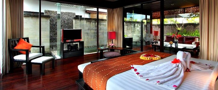 Bali Furama Xclusive Honeymoon - Romantic Bedroom