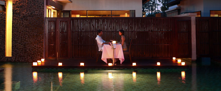 Bali Furama Xclusive Honeymoon - Romantic Candle Light Dinner