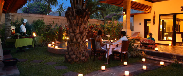 Bali Furama Xclusive Honeymoon - Villa Romantic Dinner