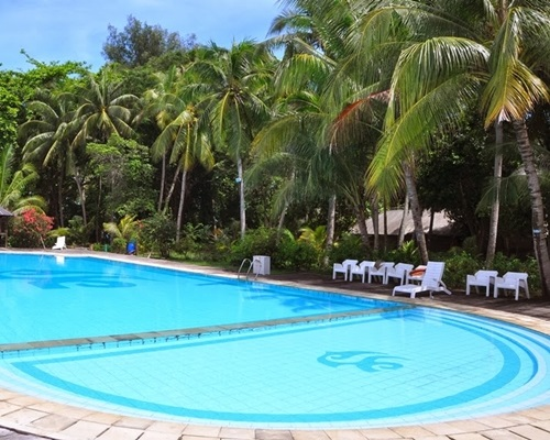 Pulau Pantara Marine Resort - Swimming Pool