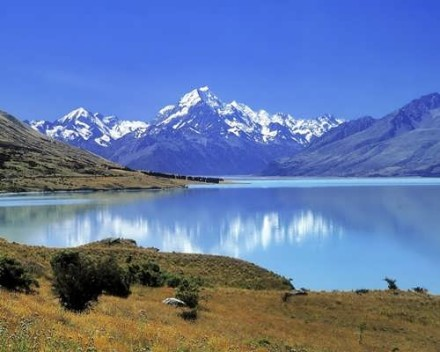 Scenic Southern New Zealand - Mt. Cook