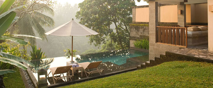 Bali Kamandalu Honeymoon Villa - Deluxe Pool Exterior
