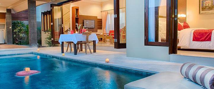 Bali Unagi Honeymoon Villa - Romantic-Dinner