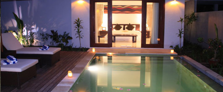 Lombok Kebun Villa Honeymoon - Private Pool - Kolam Renang Pribadi