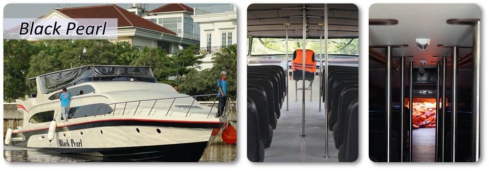 Sewa Kapal Speedboat Black Pearl
