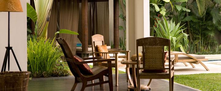 Bali De Daun Honeymoon Villa - Deluxe Lounge