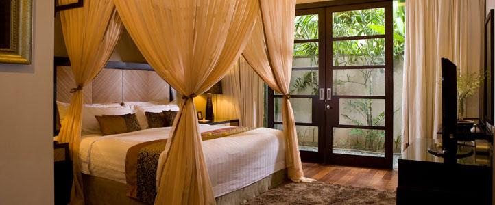 Bali De Daun Honeymoon Villa - Deluxe Pool Villa Bedroom