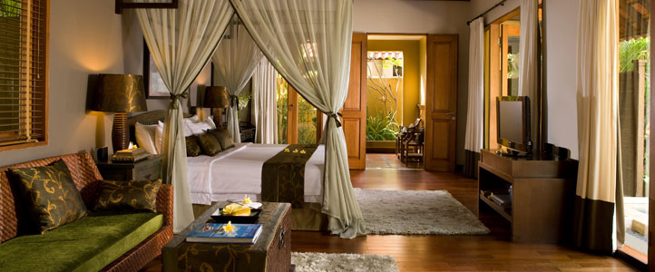Bali De Daun Honeymoon Villa - Pool Villa Bedroom