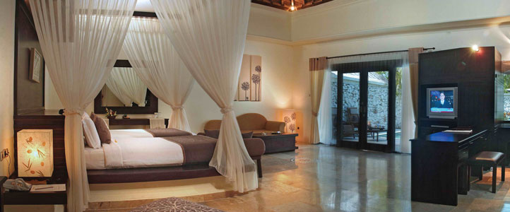 Bali Dreamland Honeymoon Villa - Bedroom Pool Villa