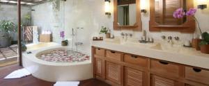 Bali Hanging Garden Ubud Honeymoon Villa - Bathroom