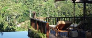 Bali Hanging Garden Ubud Honeymoon Villa - Infinity Pool