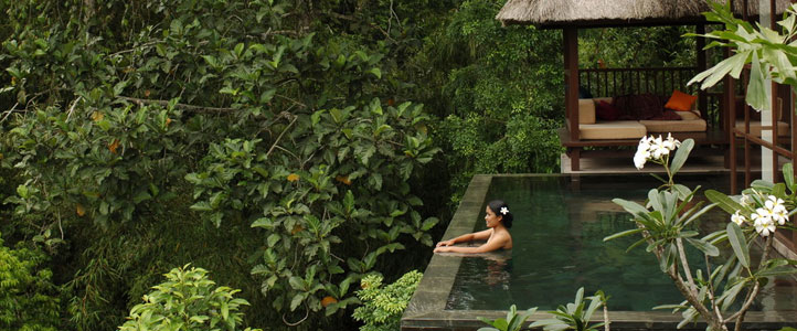 Bali Hanging Garden Ubud Honeymoon Villa - River Side Pool Villa