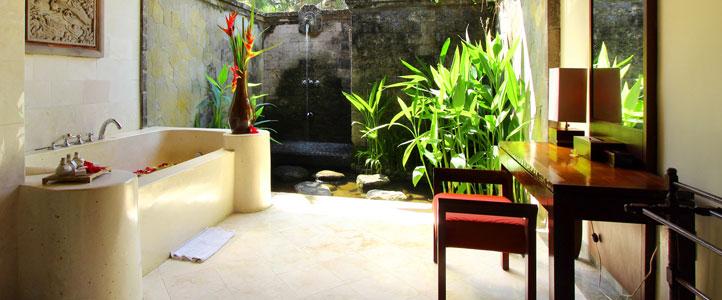 Bali Arma Resort Honeymoon Villa - Bathtub