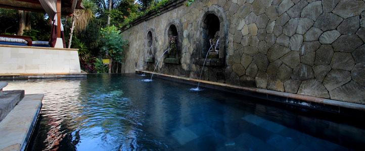Bali Arma Resort Honeymoon Villa - Kolam Renang