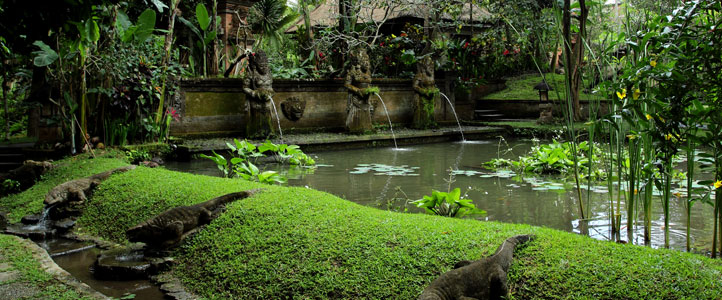 Bali Arma Resort Honeymoon Villa - Pemandangan Villa