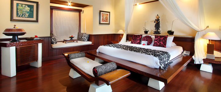 Bali Arma Resort Honeymoon Villa - Superior Bedroom