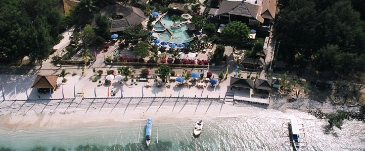 Lombok Villa Ombak - View Pantai
