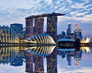 Singapore-City-River
