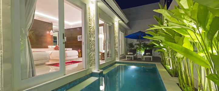 Bali Crown Astana Honeymoon Villa - Private Pool