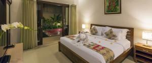 Bali Kubal Honeymoon Villa - Bedroom Villa