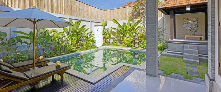 Bali Kubal Honeymoon Villa - Sundeck Private Pool