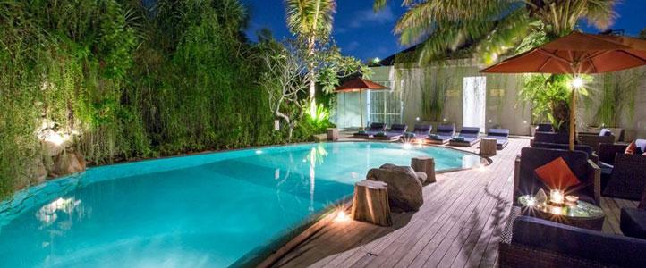 Bali Maca Seminyak Honeymoon Villa - Pool