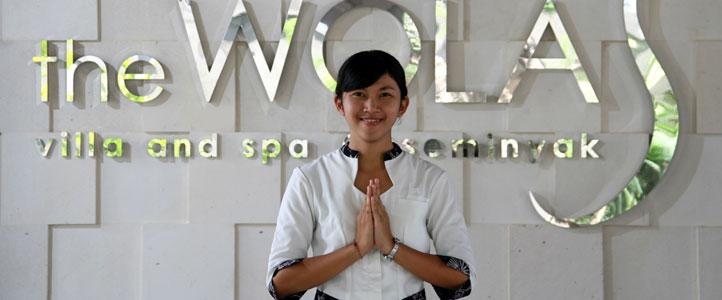 Bali Wolas Villa Honeymoon - LobbyEntrance