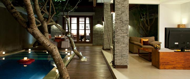 Bali Wolas Villa Honeymoon - Pool Romantic Dinner
