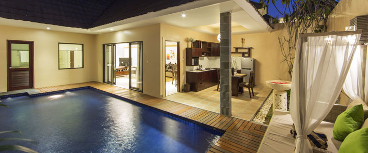 Bali Flamingo Dewata Honeymoon - Dining Pool Villa