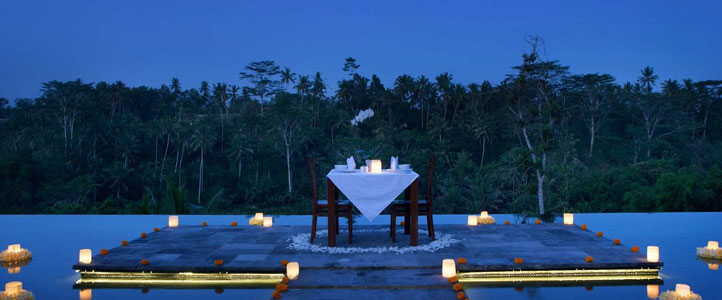 Bali Jannata Villa - Pool Romantic Dinner