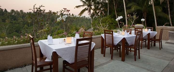 Bali Jannata Villa - Restaurant