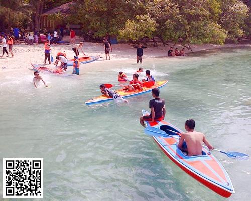 Pulau-Genteng-Kecil-Tour-Kano-Kayak-Watersport