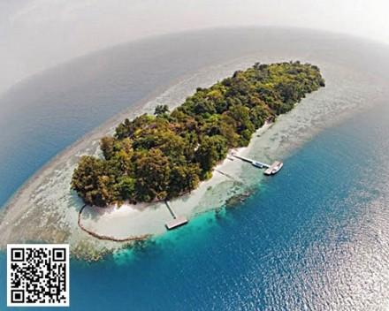 Pulau Genteng Kecil Tour - Wisata Liburan Outing Private Island