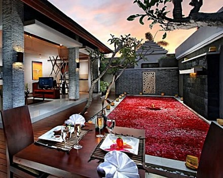 Bali Wolas Villa Honeymoon - Private Villa Romantic Dinner