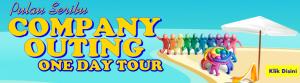 Banner Pulau Seribu Company Outing