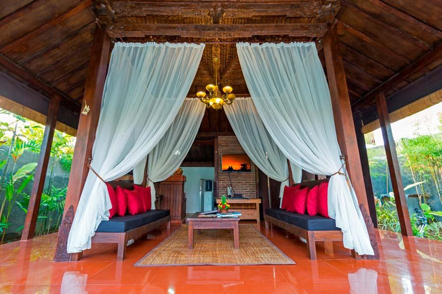 Anyar Sari Villa - View Living Room