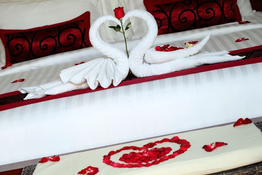 Bali Daluman Villa - Honeymoon Bed